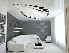 резные натяжные потолки apply фото