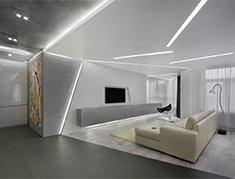 натяжные потолки со светодиодной лентой