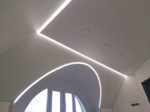Потолки с подсветкой в мкр.Юго-Западный